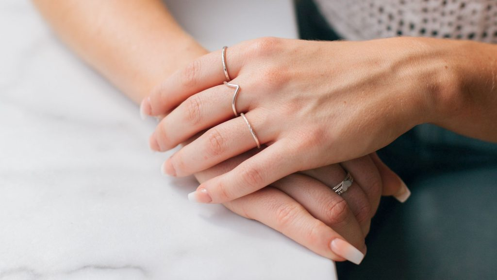 Our sterling silver rings are designed to be styled and stacked to create your own unique look.