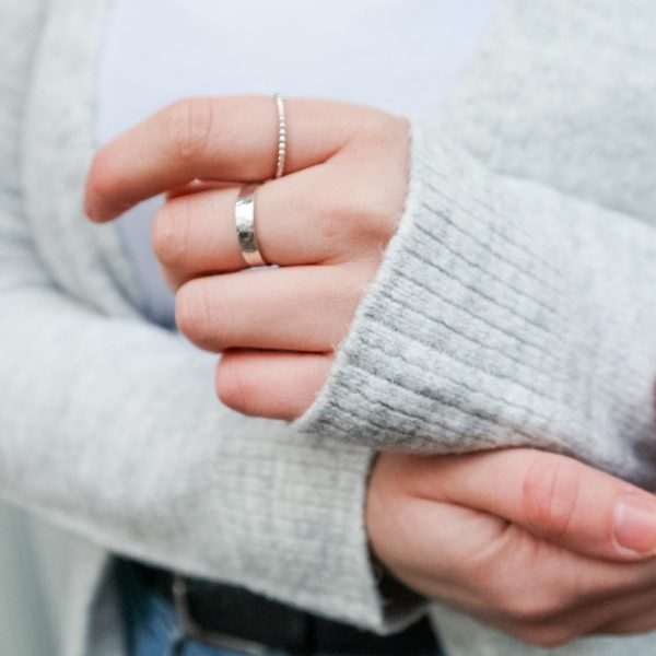 Mixed Silver Stacking Rings