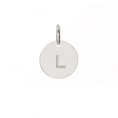 Mini Silver Personalised Disc Charm