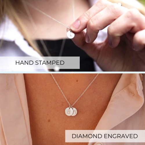 The difference between hand stamped and engraved jewellery